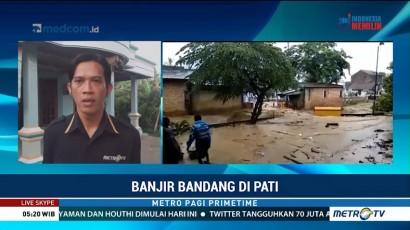 Banjir Bandang Terjang Pati