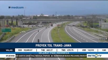 Tol Trans Jawa Siap Beroperasi Libur Natal Tahun Ini
