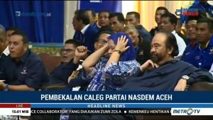 Surya Paloh Hadiri Pembekalan Caleg NasDem Aceh