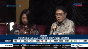 Indonesia Tak Mau Terseret Isu Perang Dagang AS-Tiongkok