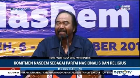 Surya Paloh Tegaskan Komitmen NasDem sebagai Partai Nasionalis Religius
