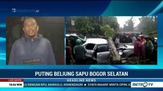 Satu Orang Tewas Setelah Bogor Diterjang Puting Beliung