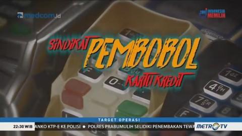 Sindikat Pembobol Kartu Kredit (1)