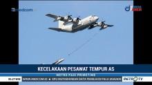 Pesawat Tempur AS Tabrakan, Lima Awak Hilang
