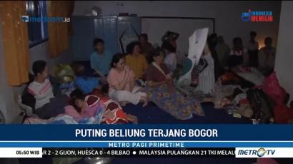 Rumah Rusak Diterjang Puting Beliung, Warga Bogor Mengungsi