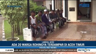 20 Warga Rohingya di Aceh timur Dipindahkan ke Panti Sosial Kota Langsa
