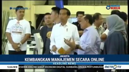 Jokowi Dorong Pengusaha Digital Rangkul UMKM