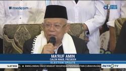 Ma'ruf Amin: Saya Berteman dengan Media