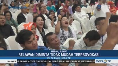 Relawan Nusantara Bangkit Sumut Deklarasi Dukung Jokowi-Ma'ruf
