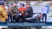 Jokowi Nilai Meningkatnya Ekspor Motor Bisa Dongkrak Investasi