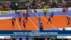 Tim Putri JPE Tuai Kemenangan di Laga Perdana