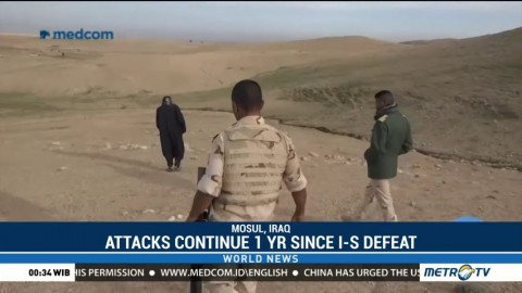 Attacks Continue as Iraq Marks One Year Since Islamic State