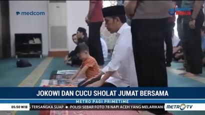 Jokowi Ajak Jan Ethes Salat Jumat Bersama