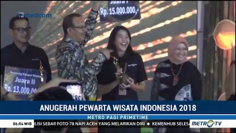 Metro TV Terima Penghargaan Anugerah Pewarta Wisata Indonesia