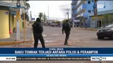 12 Orang Tewas Akibat Baku Tembak Polisi & Perampok