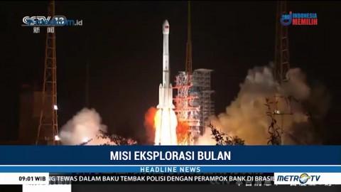 Tiongkok Luncurkan Roket untuk Misi Eksplorasi Bulan