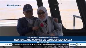 Kemesraan Jusuf Kalla dan Istri