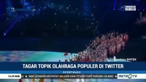 Tagar Topik Olahraga Populer di Twitter