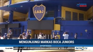 Mengunjungi Markas Boca Juniors