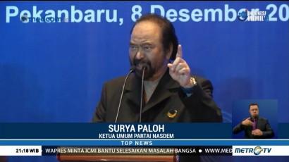 Pesan Surya Paloh di Konsolidasi Caleg DPR & DPRD NasDem Riau