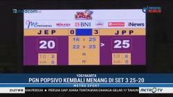 Tim Putri PGN Popsivo Polwan Tundukkan Jakarta Elektrik PLN