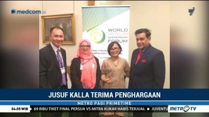Jusuf Kalla Terima Lifetime Achievement Award dari WMLF