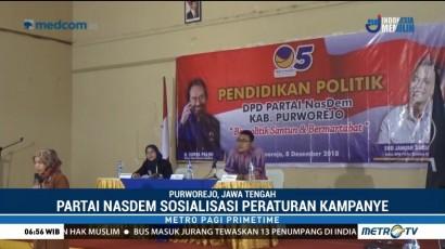 DPD NasDem Purworejo Sosialisasikan Peraturan Kampanye ke Kader