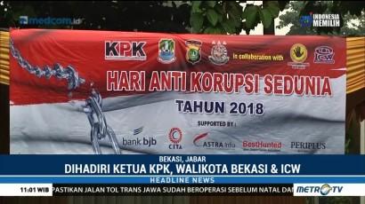 Peringatan Hari Antikorupsi Sedunia Digelar di Kota Bekasi