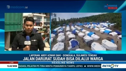 Media Group Beri Bantuan Total 900 Huntara di Sulteng