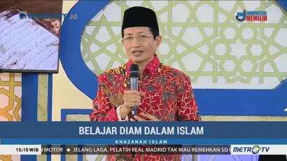 Belajar Diam dalam Islam (1)