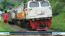 Jalur Kereta di Bojongkoneng Bisa Dilalui Kembali