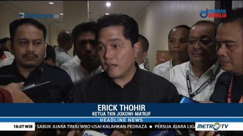 Erick Thohir Ingin Belajar dari Sandi Bangun Infrastruktur Tanpa