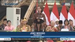 Presiden Jokowi Hadiri Kongres Kebudayaan Indonesia 2018