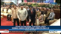 Presiden Jokowi Buka Konvensi Nasional Humas 2018
