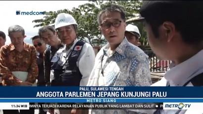 Anggota Parlemen Jepang Kunjungi Palu