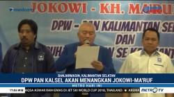 DPW PAN Kalsel Dukung Jokowi-Ma'ruf
