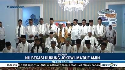 Keluarga Besar NU Bekasi Dukung Jokowi-Ma'ruf