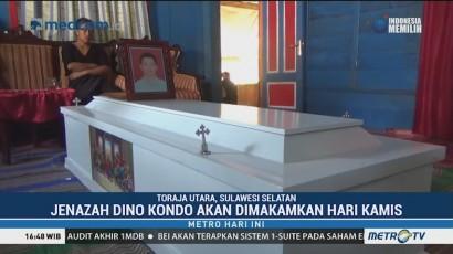 Jenazah Dino Kondo Korban Penembakan KKB Dimakamkan di Toraja