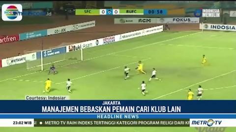 Sriwijaya FC Harus Turun Kasta ke Liga 2