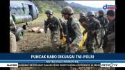 TNI-Polri Kuasai Puncak Kabo Papua