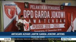 Antasari Azhar Lantik Pengurus Garda Jokowi Jateng