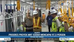 Anies Jajal MRT Rute Bundaran HI-Lebak Bulus