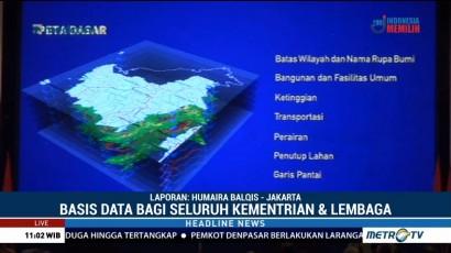Jokowi Resmikan Geoportal Kebijakan Satu Peta