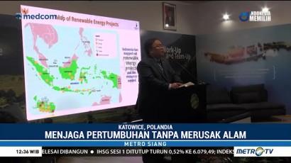 Indonesia Dorong Penggunaan Energi Ramah Lingkungan di KTT Perubahan Iklim