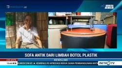 Sofa Antik dari Limbah Botol Plastik