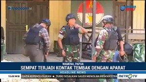 Pos TNI di Distrik Yigi Diserang KKB, 2 Anggota Terluka