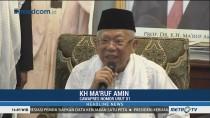 Ma'ruf Amin: Tidak Ada Istilah Kriminalisasi Ulama