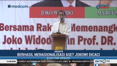 Bertemu Relawan Bravo, Jokowi 'Tantang' Pendukungnya untuk Demo