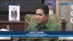 Erick Thohir Apresiasi Dukungan PAN Kalsel ke Jokowi-Ma'ruf