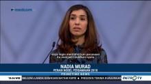 Nadia Murad Terima Nobel Perdamaian